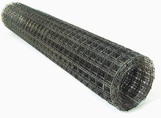 Сетка сварная черная 50х50х2,5мм 1,5х15м