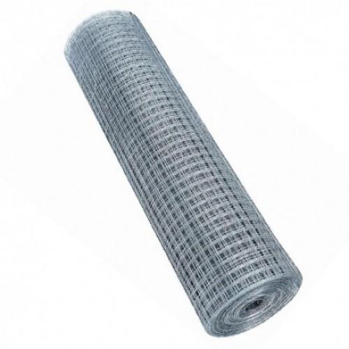 Сетка сварная оцинкованная 12х12х0,6мм 1х15м